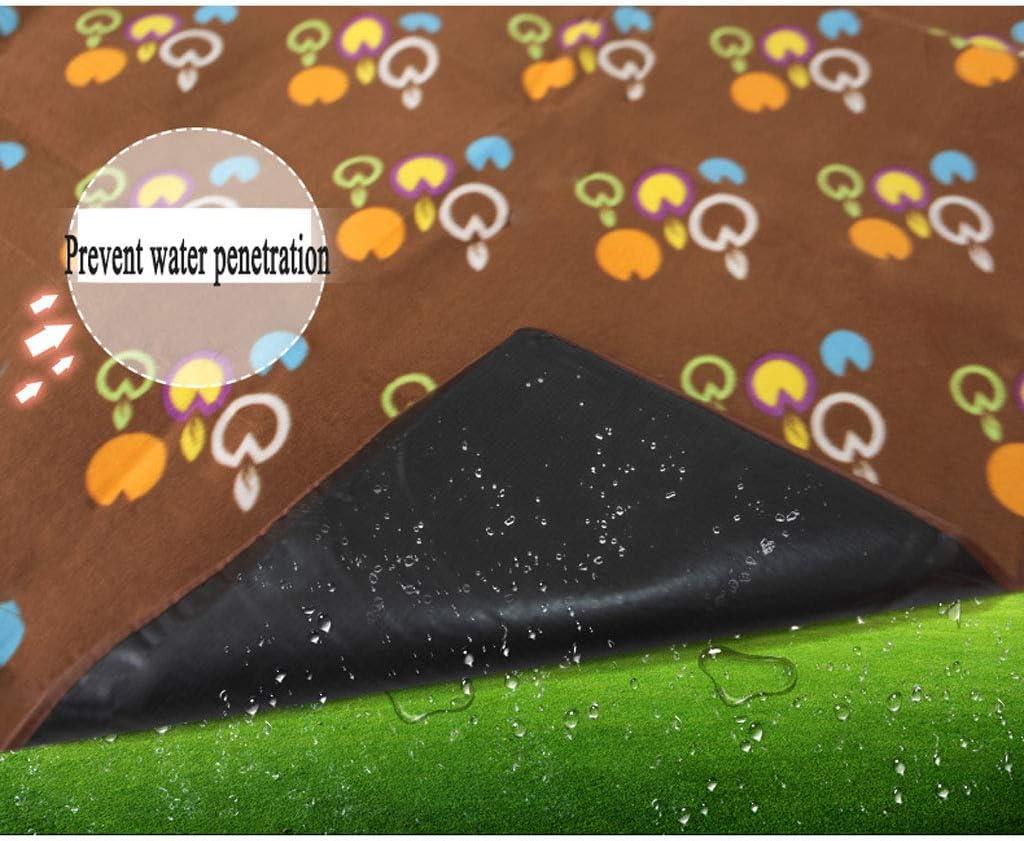 Extérieur Tapis de Pique-Nique humidité Pad Sauvage Camp de Plage Tente Tapis imperméable Pique-Nique Tissu Tampon (Color : B) B