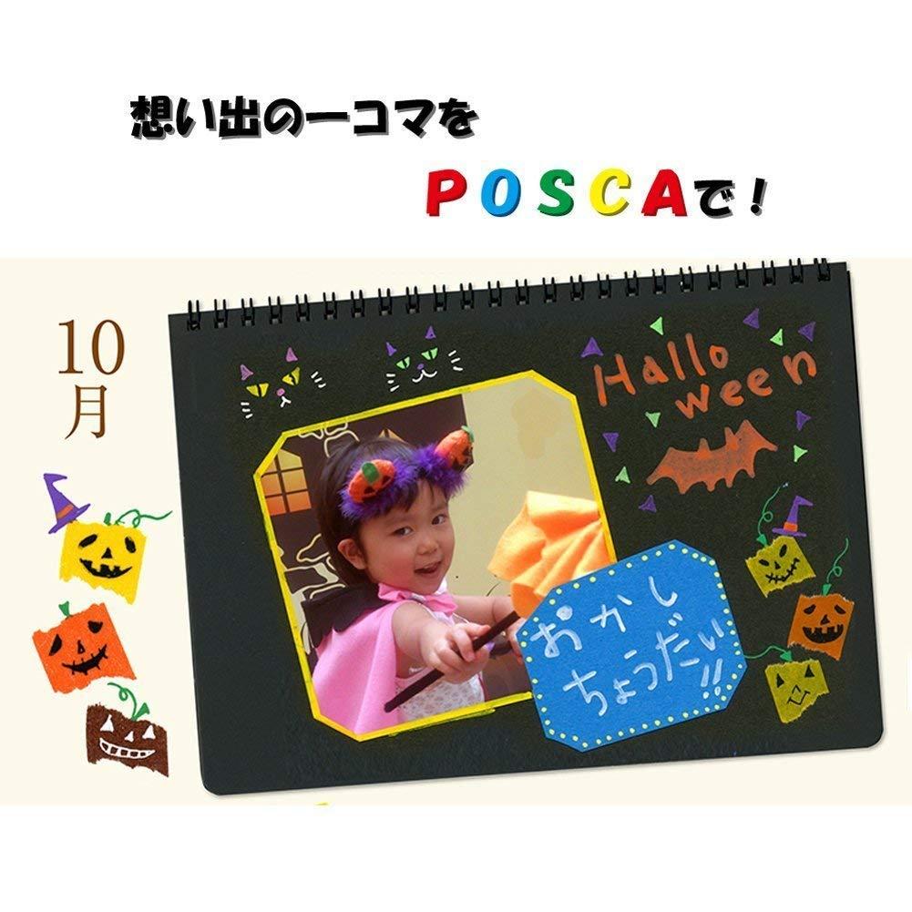 Uni Posca Paint Marker FULL RANGE Bundle Set , Mitsubishi Poster Colour ALL COLOR Marking Pen Medium Point ( PC-5M ) 29 Colours ( 22 Standard & 7 Natural ) Japan Import by uni (Image #3)
