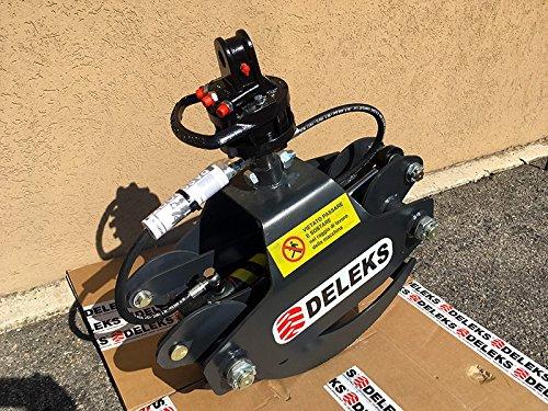 Holzzange Holzgreifer Forstzange mit Rotor f/ür Bagger