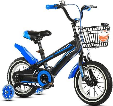 ZCRFY Bicicleta para Niños 2-15 Años Niñas Estudiante Bicicletas Infantiles Ajustable para Hombres Y Mujeres Seguro Cómodo Balance Antideslizante Regalo De Moda: Amazon.es: Deportes y aire libre