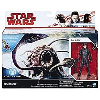 Star Wars Force Link Rathtar & Bala-TIK Figure: Toys & Games