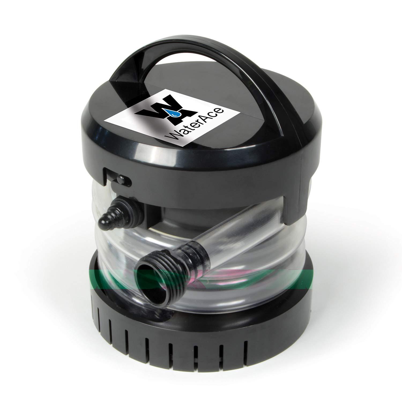 WaterAce WABPU Submersible Utility Pump Black