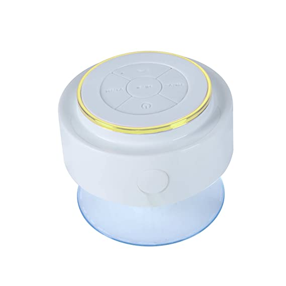 CiCiCat Altavoz Bluetooth, IP67 Impermeable Inalámbrico Ducha Mini Portátil Altavoz, Sonido HD Altavoces Perfecto para La Playa, Piscina, Cocina, ...