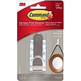 Command Large Metal Hook, 1 Hook, 2 Strips