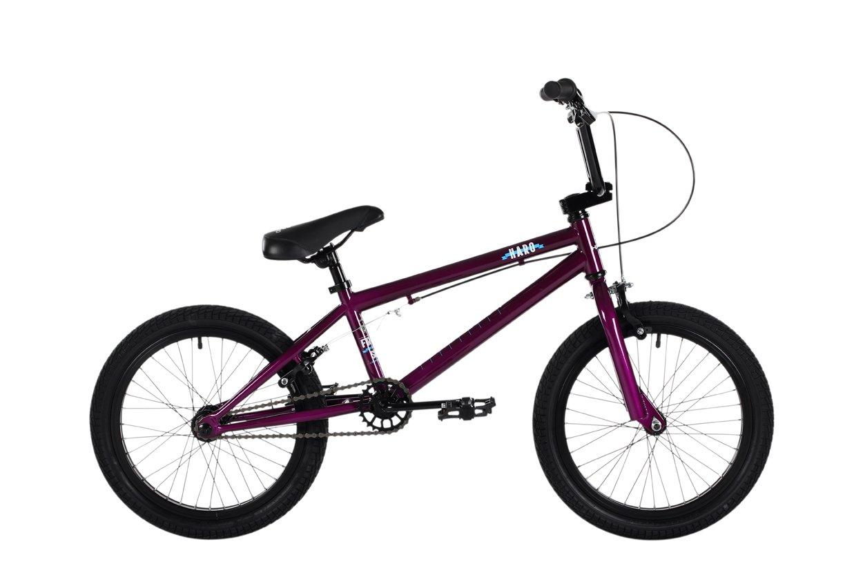 HARO Frontside 18 BMX Bike Purple 2016