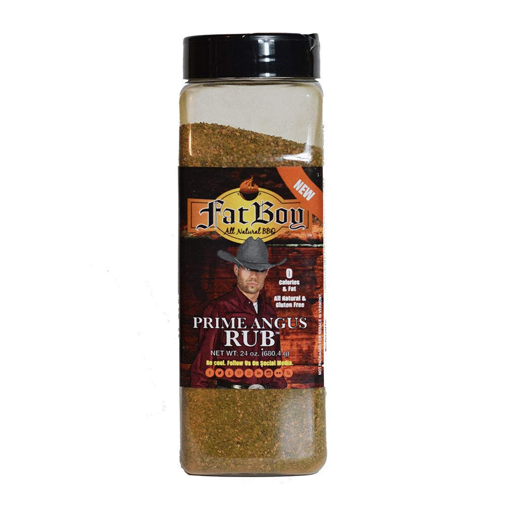 JB's Challenge OFFicial the lowest price Fat Boy Prime Angus Ounce Rub 24