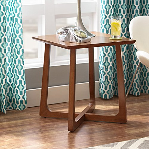Side End Table Epsilon Indi Mid-Century Inspired with Clean-