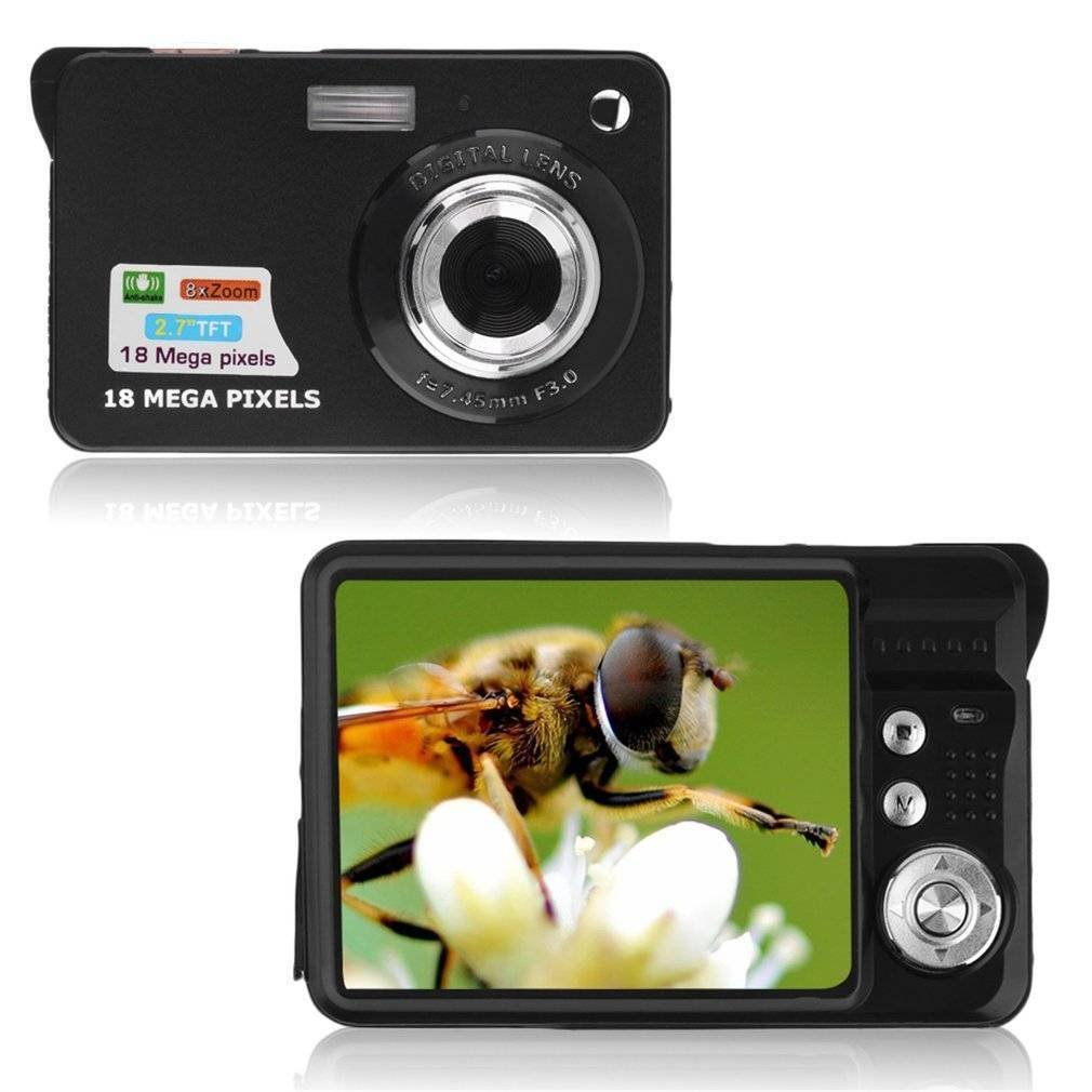 "Digital Camera, Prodico 2.7"" Mini Video Camera HD Digital Point Shoot Camera for Kids (Black)"