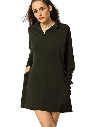 ROMWE - Falda - para mujer verde oscuro Large: Amazon.es: Ropa y ...