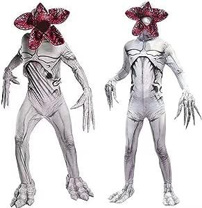 RenKeAi Traje de Demogorgon Body Cosplay de Halloween Cráneo ...