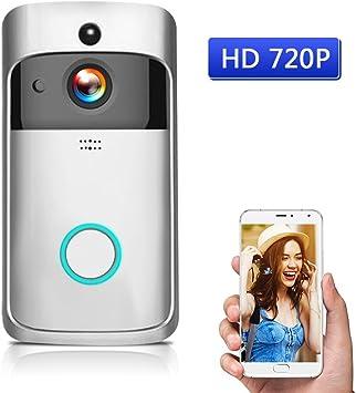 OWSOO HD 720P Timbre para Puerta Vídeo WiFi Inalámbrico ...