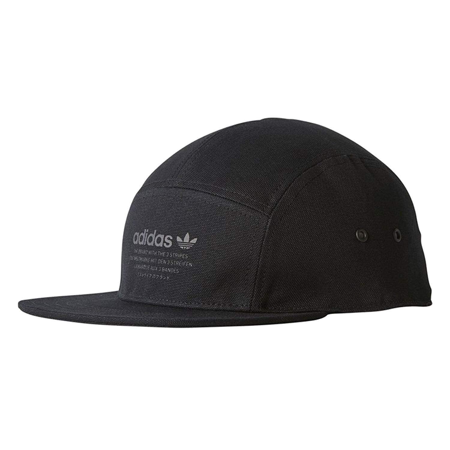 f25da9bffbc adidas Originals NMD Cap Running 5-Panel Black Black BR4685 at Amazon Men s  Clothing store