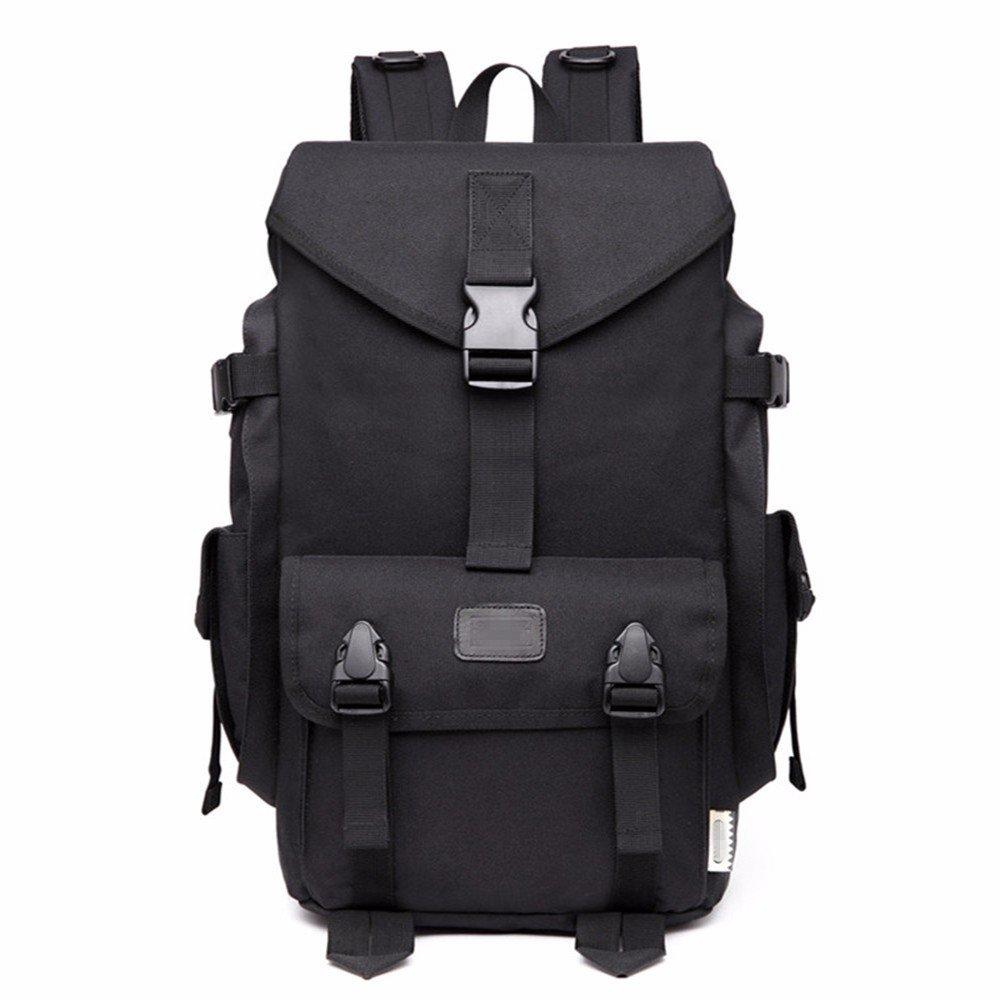 Black YDIUDIU New computer backpack Oxford cloth backpack leisure computer backpack fashion leisure travel