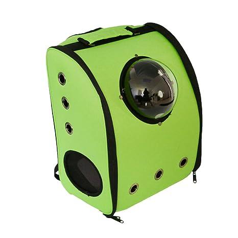 LvRao - Mochila-transportín para perros y gatos, transpirable, viajes en avión