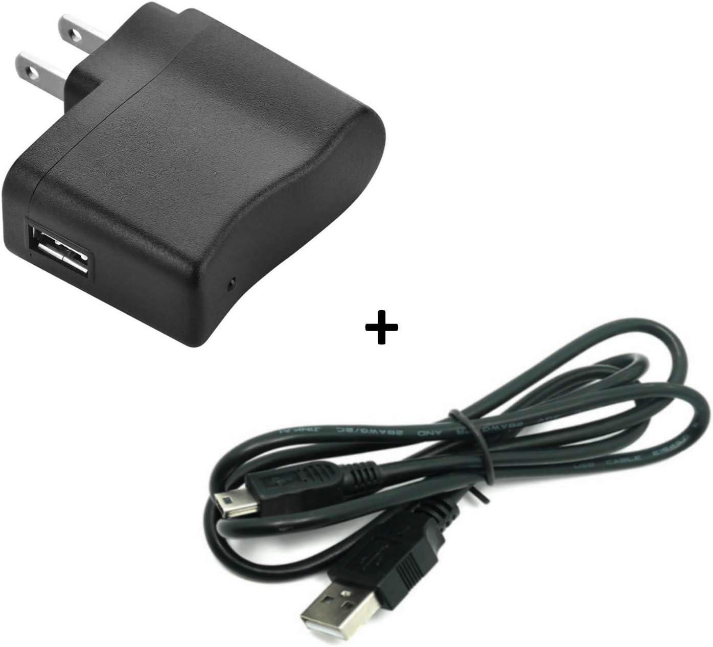USB Power//Data Cable /& Wall AC Adapter for Texas Instruments Calculators TI-84 Plus TI-84 Plus C Silver Edition TI 89 Titanium TI Nspire CX TI Nspire CX CAS Graphing Calculator Charger