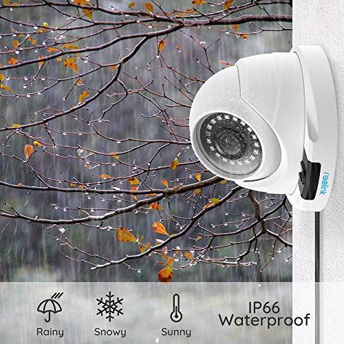 Cámara de Seguridad PoE Reolink 5MP HD Ranura para Tarjeta SD incorporada Soporte de Audio Vigilancia en el hogar al Aire Libre IR Impermeable Visión ...