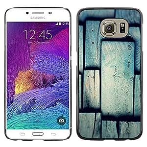 iKiki Tech / Estuche rígido - Tile Pattern Grey Gray Polygon - Samsung Galaxy S6 SM-G920