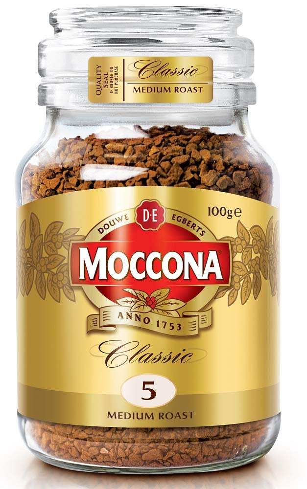 Moccona Coffee 100g Freeze Dried Coffee Medium Roast Amazon In Grocery Gourmet Foods