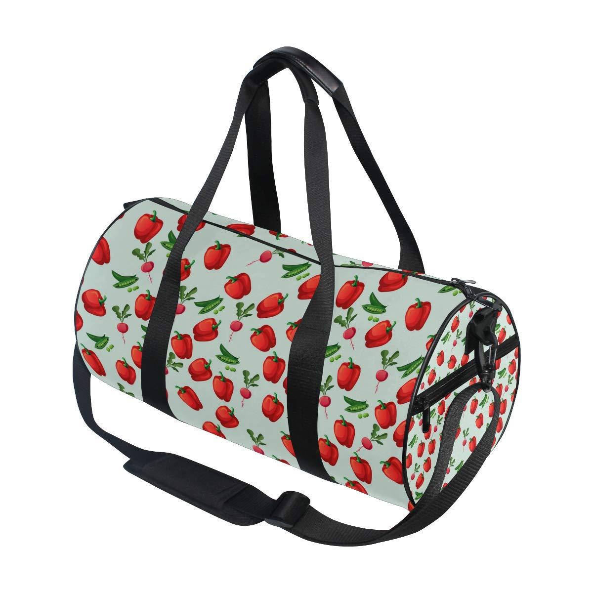Waterproof Non-Slip Wearable Crossbody Bag fitness bag Shoulder Bag Taro Vegetable Picture