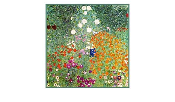 Orenco Originals Italian Garden by Gustav Klimt Counted Cross Stitch Pattern