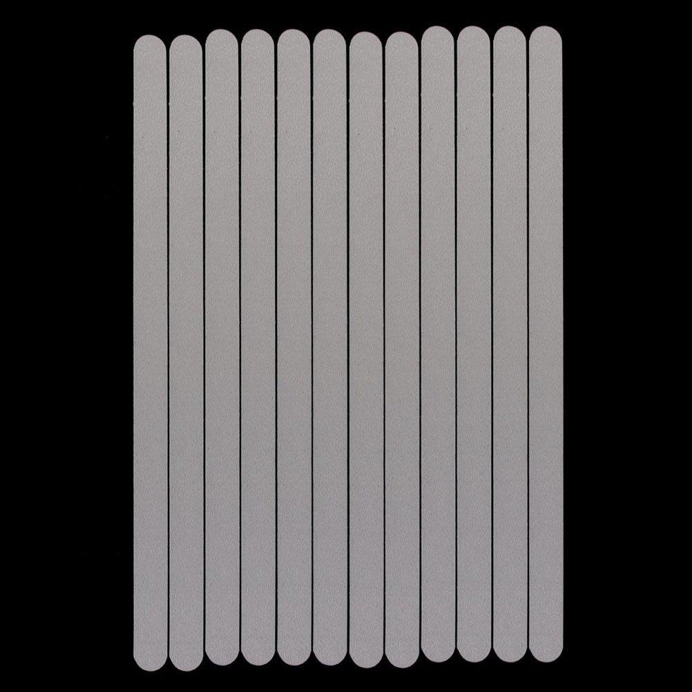 WINOMO Stickers Bandes S/écurit/é Anti-d/érapant pour Bain Douche 12pcs blanc