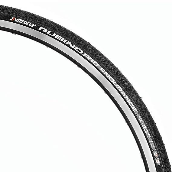 Vittoria Rubino Pro G Endurance Road Tyre Graphene 700x23 BLACK