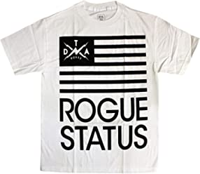 DTA RS Black Flag T-Shirt White Black