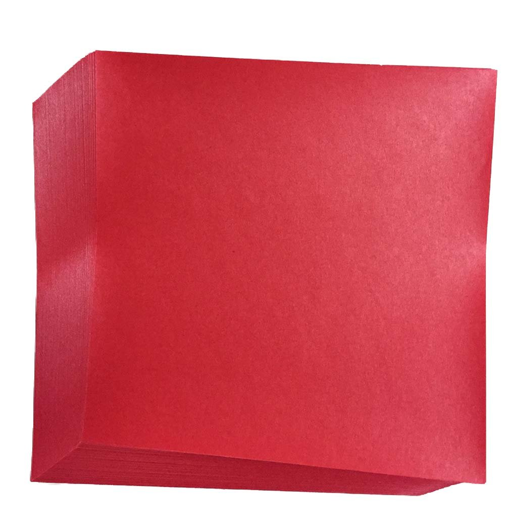 Amazon red origami paper 50 sheets n8287 office products jeuxipadfo Image collections