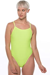 549fa7e018e JOLYN Women's Fixed-Back Archer One-Piece Athletic Swimsuit at ...