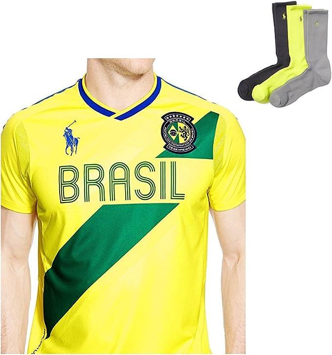Ralph Lauren Polo Calcetines de Deporte Brasil Camiseta Jersey ...
