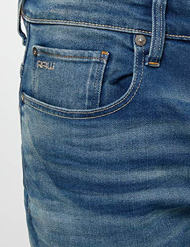G 071 6090 Raw Aged Bleu Homme Jeans star medium rxBqW67vrw