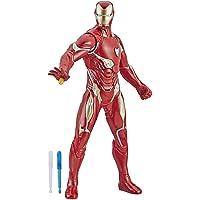 "Marvel Avengers Endgame Repulsor Blast Iron Man 13""-Scale Figure Featuring 15+ Sounds & Phrases"