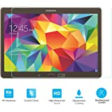 Alienwork Pellicola protettiva per Samsung Galaxy TAB S 10.5 vetro temperato 0,26 mm trasparente Anti-graffio super durezza vetro Trasparente SPSTS105-01