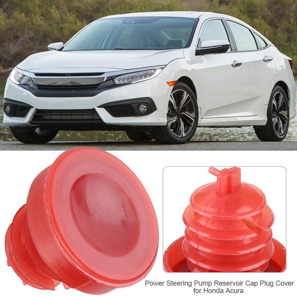 Aramox Reservoir Cover,53697-SB3-952 Power Steering Pump Reservoir Cap Plug Cover for Honda Acura