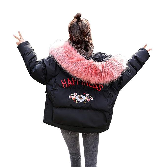 Abrigos algodón de Invierno Almohadilla de algodón versión Coreana del Vestido de Pan Suelto Chaqueta de algodón pequeña Ropa de algodón Verde Blanco Negro: ...