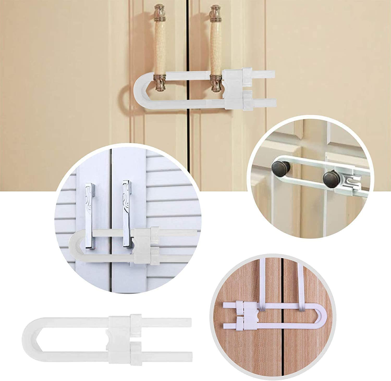 Esquinas Anticolisi/ón para Beb/és Cubiertas de Seguridad para Enchufes FemKey 45pcs Kits de Seguridad para Beb/és Cerraduras de Seguridad para Cajones Cerraduras de Seguridad para Puertas etc.