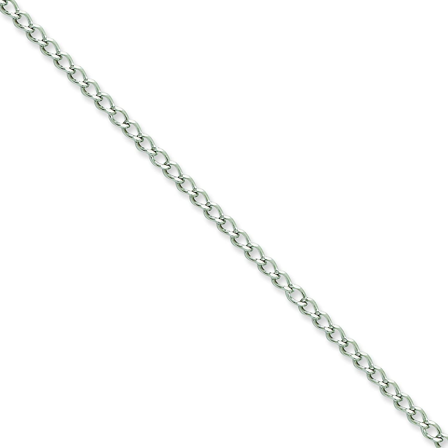 Stainless Steel 3mm Curb Chain