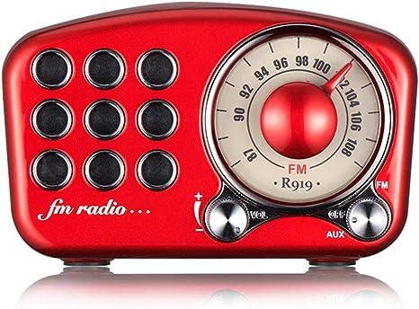 Tocadiscos Retro Radio Vintage Altavoz Retro Estéreo Inalámbrico ...