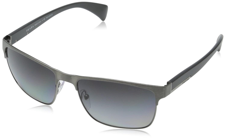 28ee2d4ade Amazon.com  Prada Men s PR51OS DHG5W1 Sunglasses