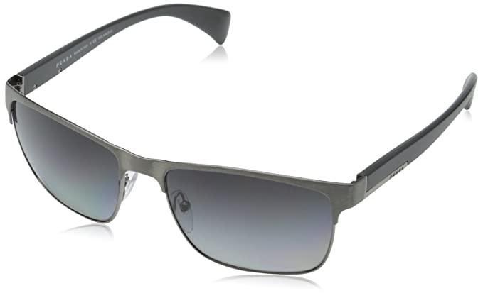 74e54989111 Amazon.com  Prada Men s PR51OS DHG5W1 Sunglasses