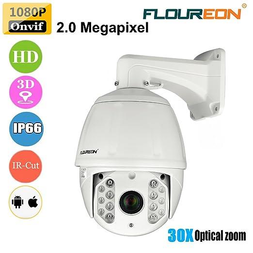 3 opinioni per FLOUREON Videosorveglianza CCTV Camera IP Dome Telecamera Impermeabile 1080P 2.0
