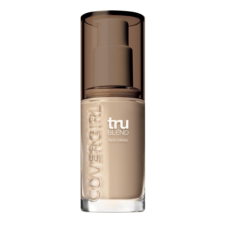COVERGIRL truBlend Liquid Foundation Makeup Medium Light M2, 1 oz