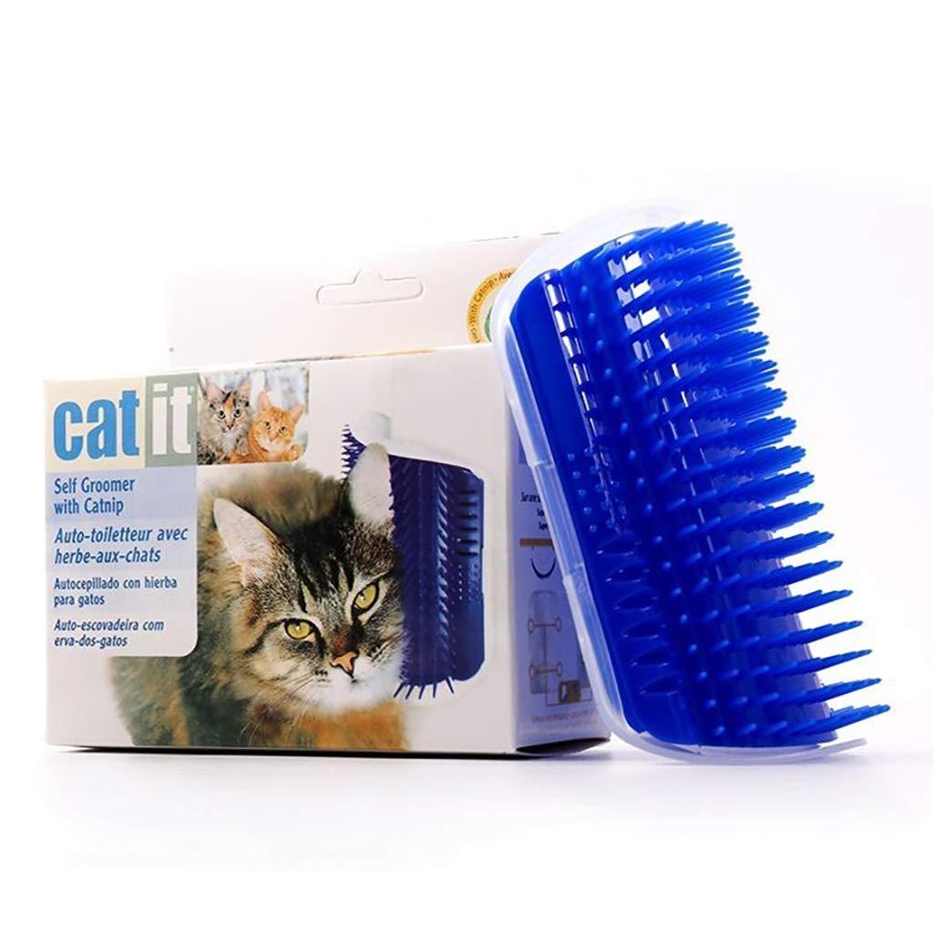 Wowangwang Corner Hair Removal Comb, Pet Hair Removal Comb, Fixed Corner Silicone Hair Removal Comb,A1