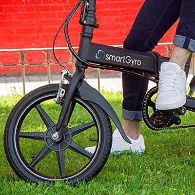 SmartGyro Ebike Black - Bicicleta Eléctrica, Ruedas de 16 ...