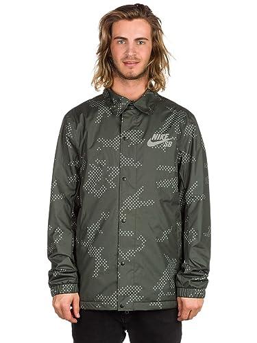 Nike Assistant Coaches Jacket - Men's Sequoia/Anthracite/White, ...