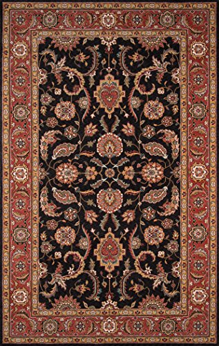 Momeni Rugs PERGAPG-07SAL96D0 Persian Garden Collection, 100% New Zealand Wool Traditional Area Rug, 9'6