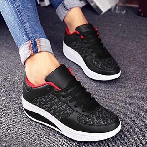 L'Usure à Printemps de Mesh Sneakers Femme 43 Confort Résistant Sport JRenok 35 Baskets Antidérapante Chaussures qxPZ4pFwU1