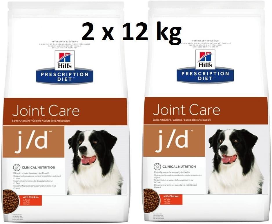 Hills Prescription Diet j/d 2 x 12 kg Joint Care comida para perros con pollo