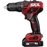 SKIL PWRCore 12 Brushless 12V 1/2 Inch Cordless Drill Driver, Includes 2.0Ah Lithium Battery and Standard Charger…