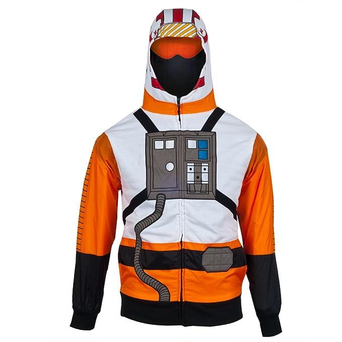 Star Wars - X-Wing traje de sudadera con capucha de aviones ...